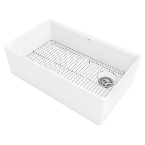 American Standard - Avery 33 x 20 Single Bowl Farmhouse Kitchen Sink  American Standard - Alabaster White