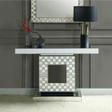 ACME Nasa Console Table - 90500 - Mirrored & Mother of Pearl