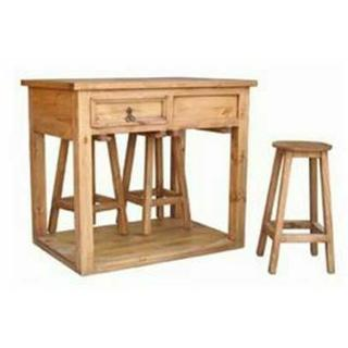See Details - Island W/ Stools