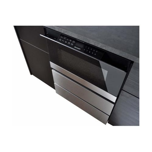 24 in. Under the Counter Microwave Drawer Oven Pedestal