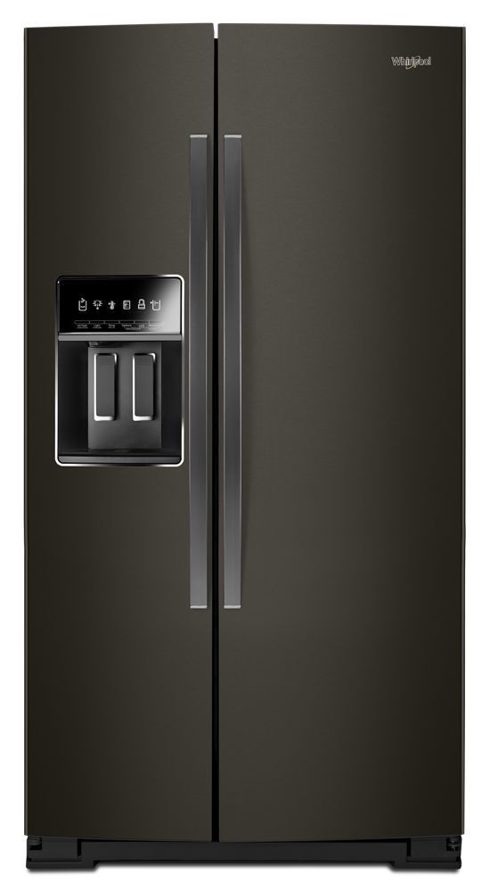 Whirlpool36-Inch Wide Side-By-Side Counter Depth Refrigerator - 23 Cu. Ft.