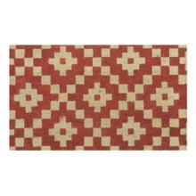 Doormat Mathis Spice Red 18x30