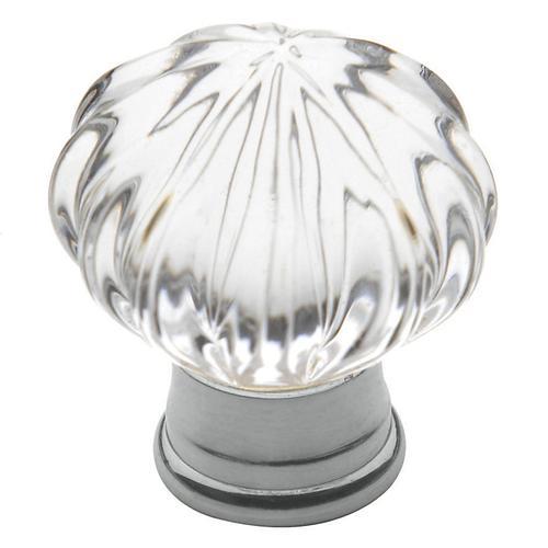 Baldwin - Polished Chrome Crystal Cabinet Knob