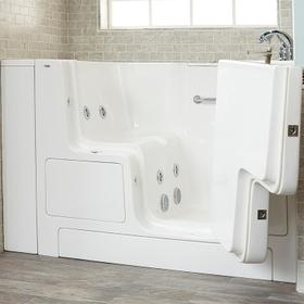 Value Series 32x52-inch Whirlpool Walk-In Tub  Out-swing Door  American Standard - White