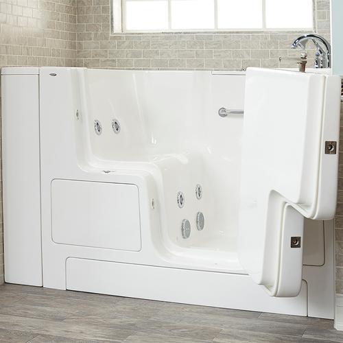 Value Series 32x52-inch Whirlpool Walk-In Tub  Out-swing Door  American Standard - White