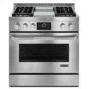 """Pro-Style® 36"""" Gas Range with Griddle and MultiMode® Convection Stainless Steel"""