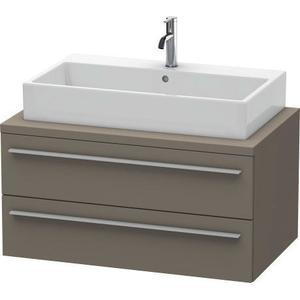 Vanity Unit For Console, Flannel Gray Satin Matte (lacquer)
