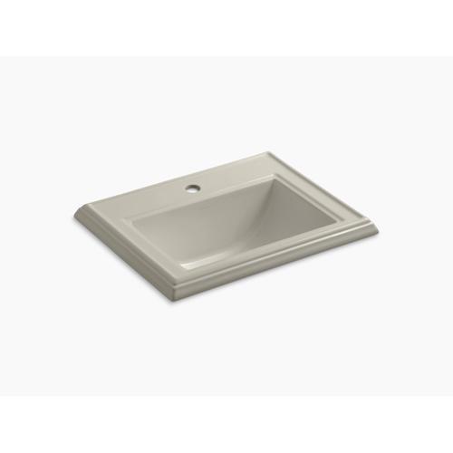 Sandbar Classic Drop-in Bathroom Sink With Single Faucet Hole
