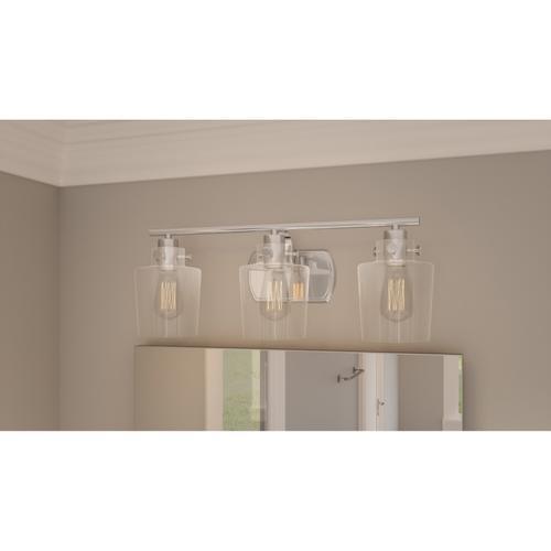 Quoizel - Ledger Bath Light in Polished Nickel