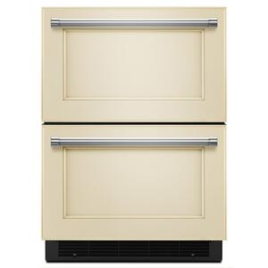 "KitchenAid24"" Panel Ready Double Refrigerator Drawer Panel Ready"