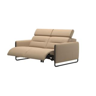 See Details - Stressless® Emily 2 seater with 2 motors arm steel