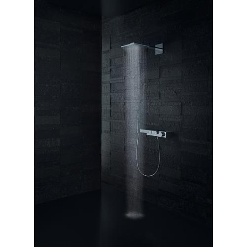 Brushed Gold Optic Overhead shower 250/250 2jet with shower arm
