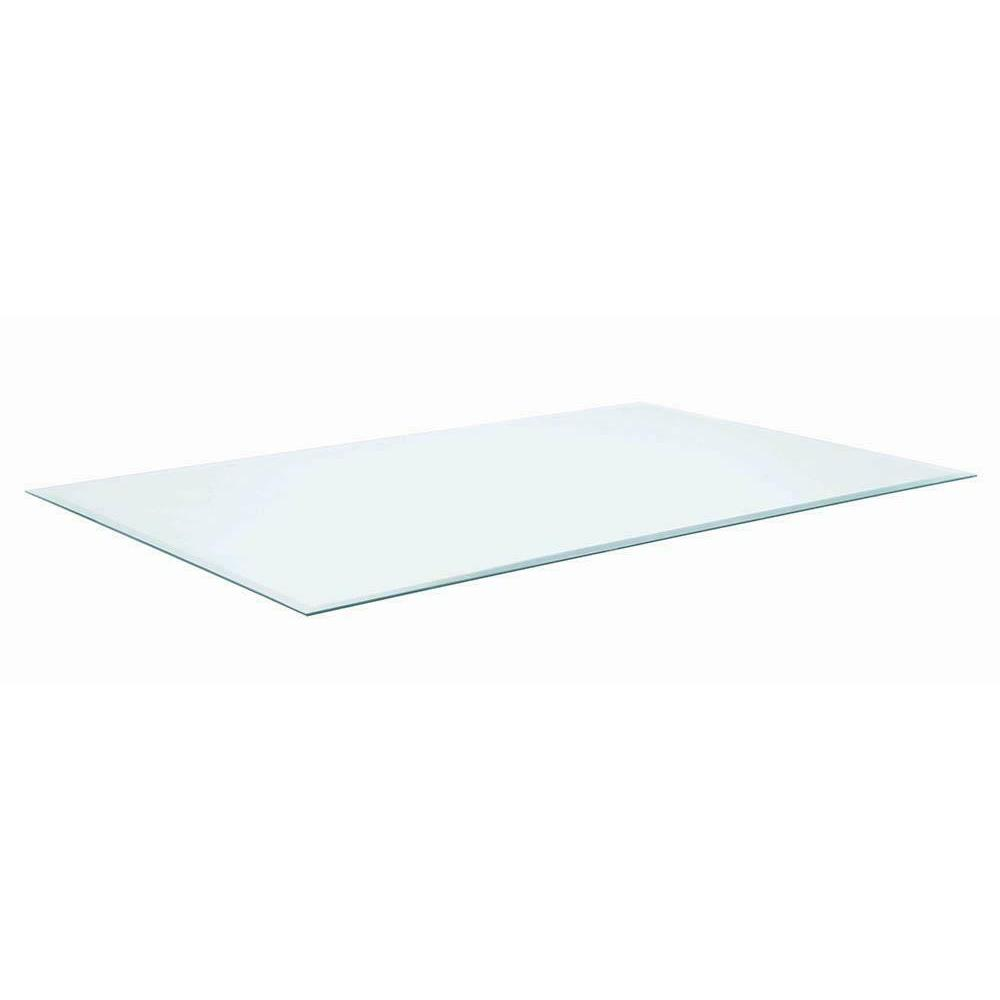 Beveled Tempered Safety Glass Top