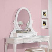 Caroline White Vanity Mirror Product Image