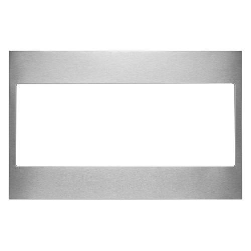 Built-In Low Profile Microwave Standard Trim Kit, Stainless Steel