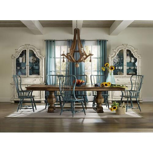 Dining Room Sanctuary Rectangle Trestle Table