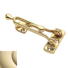 Lifetime Polished Brass Security Door Guard