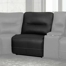 View Product - SPARTACUS - BLACK Manual Armless Recliner