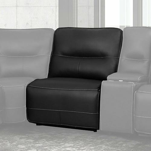 Parker House - SPARTACUS - BLACK Manual Armless Recliner