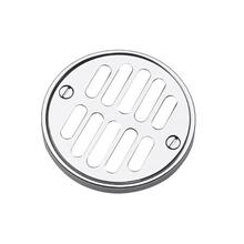 Matte White Shower Drain Grill