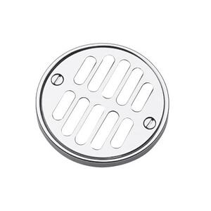 Uncoated Polished Brass - Living Shower Drain Grill