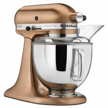 See Details - Custom Metallic® Series 5 Quart Tilt-Head Stand Mixer - Satin Copper