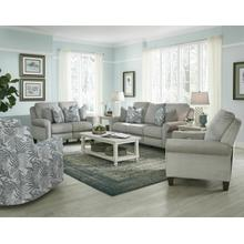 Double Reclining Power Sofa with Pillows