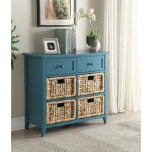 TEAL DRAWER CABINET