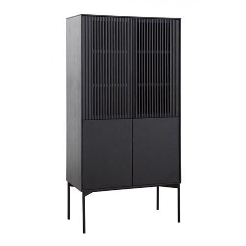VIG Furniture - Modrest Dawes - Modern Black Oak Tall Buffet