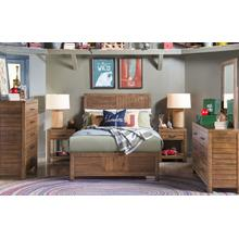 View Product - Summer Camp - Brown Panel Bed, Full