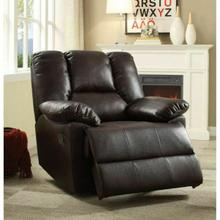 ACME Oliver Glider Recliner - 59426 - Dark Brown Leather-Aire
