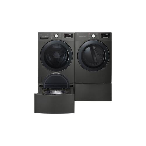 LG Canada - 5.2 cu.ft. Ultra Large Capacity Washer with NeveRust™ Stainless Steel Drum