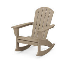 View Product - Nautical Adirondack Rocking Chair in Vintage Sahara