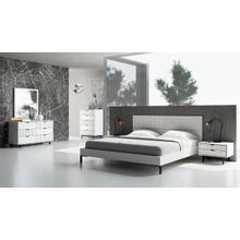 View Product - Nova Domus Valencia Contemporary White Bedroom Set