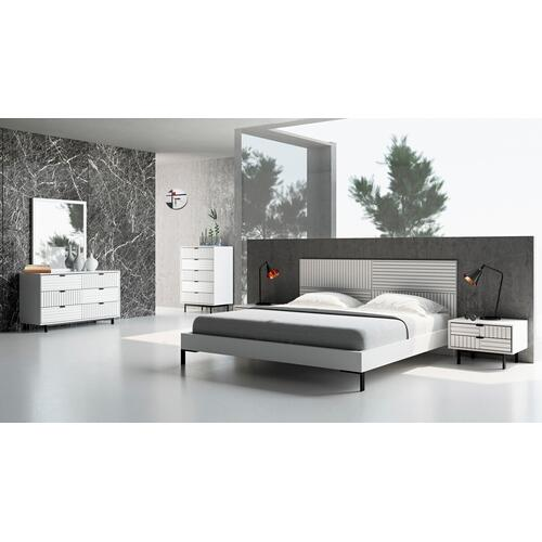 VIG Furniture - Nova Domus Valencia Contemporary White Bedroom Set