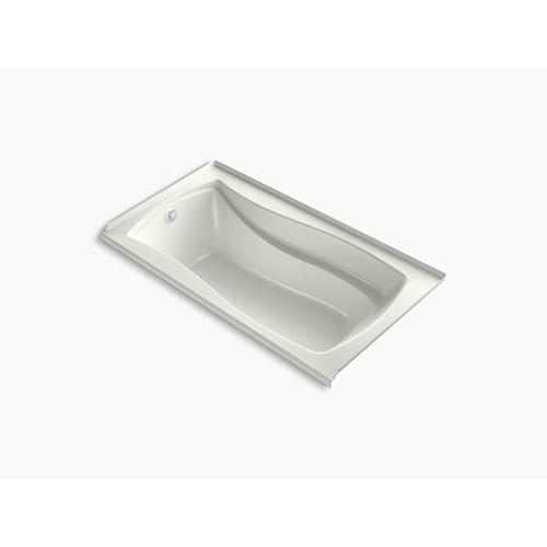 """Dune 66"""" X 36"""" Integral Flange Heated Bubblemassage Air Bath With Bask Heated Surface and Left-hand Drain"""