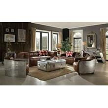 ACME Brancaster Sofa - 53545 - Retro Brown Top Grain Leather