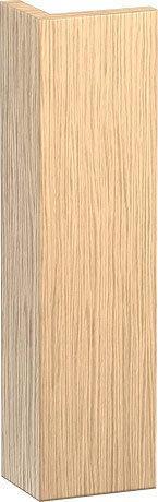L-cube Body Trim Individual, Brushed Oak (real Wood Veneer)