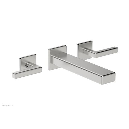 MIX Wall Lavatory Set - Lever Handles 290-12 - Satin Chrome