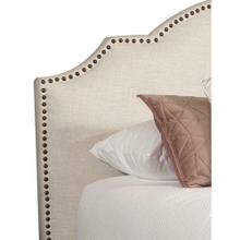 CHARLOTTE - FLOUR King Headboard 6/6 (Natural)