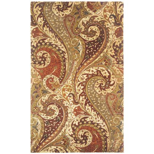 Paisley Spice Multi Hand Tufted Rugs