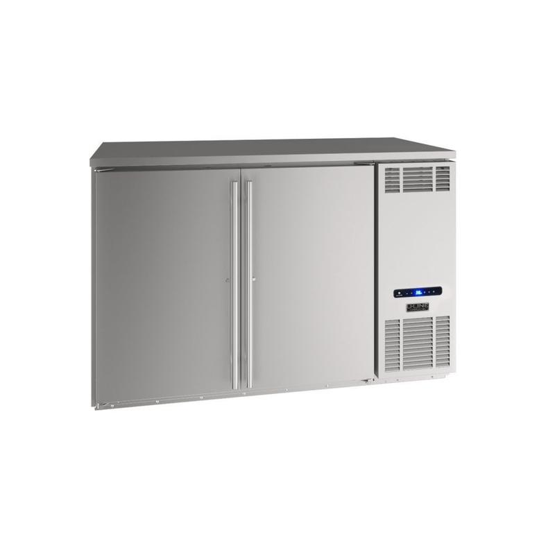 """52"""" Back Bar Refrigeration With Stainless Solid Finish (115 V/60 Hz Volts /60 Hz Hz)"""