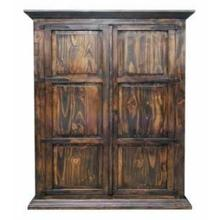 View Product - Med Hydrowax Armoire W/ Full Hideaway Bed