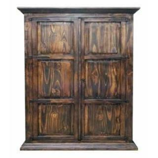 See Details - Med Hydrowax Armoire W/ Full Hideaway Bed