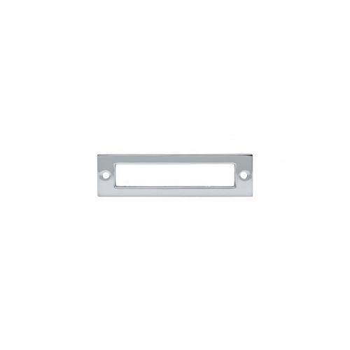 Hollin Backplate 3 3/4 Inch - Polished Chrome