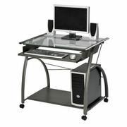 ACME Vincent Computer Desk - 00118 - Pewter Product Image