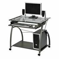 ACME Vincent Computer Desk - 00118 - Pewter