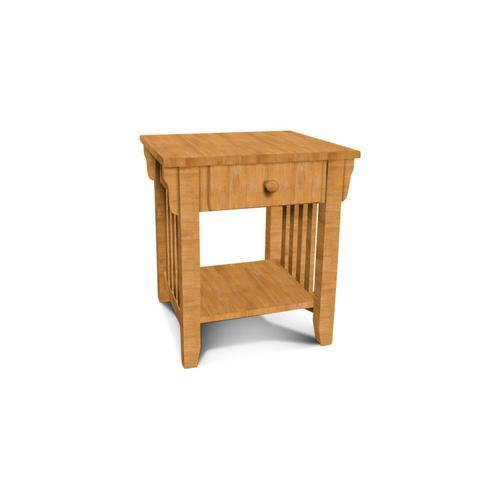 John Thomas Furniture - Mission End Table