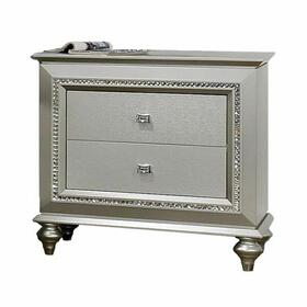 ACME Kaitlyn Nightstand - 27233 - Champagne