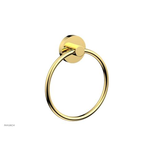 BASIC & BASIC II Towel Ring DB40 - Polished Gold